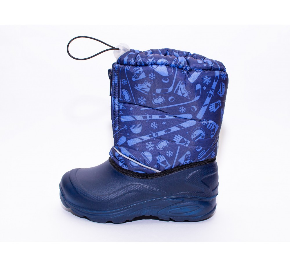 10-4 snowboots with a drawstring